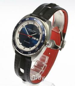 HAMILTON Pan Euro H354050 Day date Blue Dial Automatic Men's Watch 569200