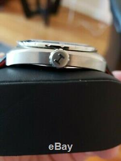 Hamilton Mens Pan Europ Automatic Swiss Made Watch Blue