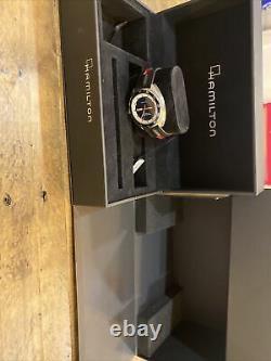 Hamilton Pan Europ SWISS Automatic Day Date Blue Dial Men's Watch H35405741