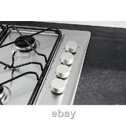 Hotpoint Built In PAN642IXH 4 Zone Gas Hob Stainless Steel