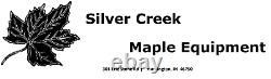 Maple Syrup Pan 18x34x6 with dividers, warming pan and valves Stainless evaporator