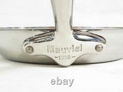 Mauviel M'COOK Stainless Steel Collection Round Frying Pan & Pouring Edge (30cm)