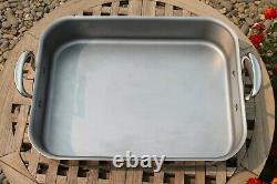Mauviel Stainless Steel Roasting Pan, Triply, Made in France NEW