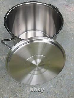 NEW Fissler Original Profi Collection Pan withLid 24cm 8 Liter Made in Germany