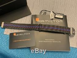 NEW Hamilton Pan-Europ Gray Automatic Mens Watch 42mm H354150 H35415781 Box Tags