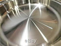 NEW SALADMASTER 12 Electric Skillet Pan STAINLESS STEEL Liquid Core SA012OCU