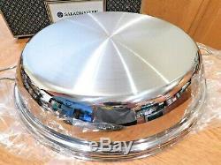 NEW SALADMASTER 316Ti TITANIUM 15 GRAND GOURMET 6 QUART PAN JUMBO SKILLET
