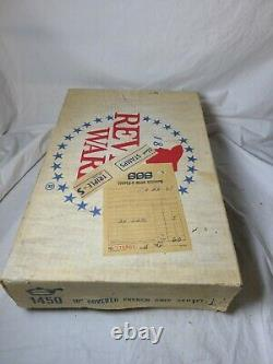 NEW SEALED Vintage Revere Ware 1450 10 Covered Skillet Fry Pan Copper Rome NY