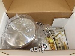 NIB $280 ALL-CLAD D5 COPPER CORE 2 Quart Sauce Pan with Lid