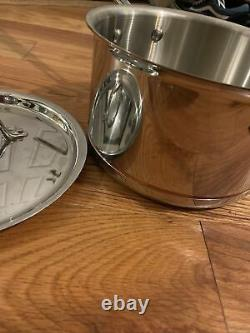 New All Clad Copper Core 4 Qt. Sauce Pan with Lid