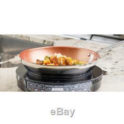 NuWave Aluminum & Stainless Steel Non Stick Ceramic Pots & Pans Cookware Set