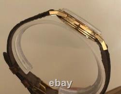 OMEGA CONSTELLATION PIE PAN Ref 14900 18k GOLD AMAZING UNPOLISH WATCH
