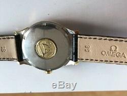 OMEGA CONSTELLATION PIE PAN Ref. 168.005 GOLD & STEEL 34mm VINTAGE WATCH FOR MEN
