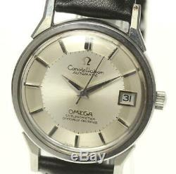 OMEGA Constellation Date Pie Pan Dial cal, 1011 Automatic Men's Watch 512373