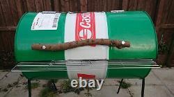 Oil Drum BBQ Barbecue Extra large Smoker Jerk Pan