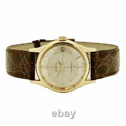 Omega 14k Gold Pie Pan Constellation 1960 Vintage