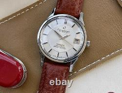 Omega Constellation 1011 Pie Pan 1973 Leather Vintage Mens Automatic 70s watch