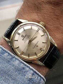 Omega Constellation Automatic Gold Pie Pan vintage mens serviced 1959 watch Box