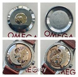 Omega Constellation Automatic Pie Pan vintage mens Waffle Black Dial 1954 watch