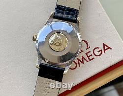 Omega Constellation Gold Pie Pan Black Dial Vintage Mens Automatic 1962 watch