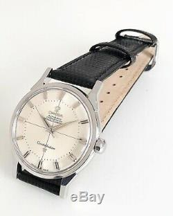 Omega Constellation Pie Pan Automatic Cal. 551 Dating To 1962