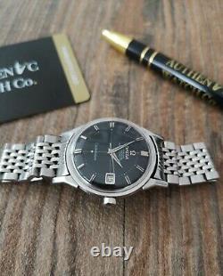 Omega Constellation Pie Pan Cross Hair Vintage Watch, Serviced + Warranty 1962