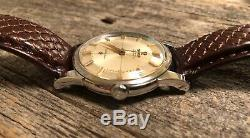 Omega Constellation Pie Pan Dial Stainless Steel 1961 Vintage Mens Watch Cal 551