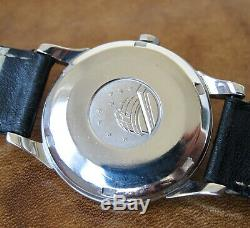 Omega Constellation Pie Pan Dial Stainless Steel 1961 Vintage Wristwatch