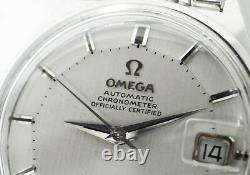 Omega Constellation Pie Pan Dial168.015 Men's Watch Silver Dial Automatic Cf5805