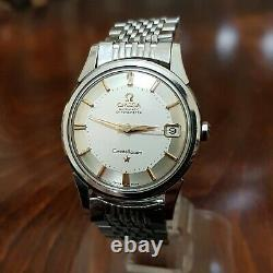 Omega Constellation Pie Pan, Excellent Condition, S. Steel, Ref. 14393-9 Sc, Cal. 561