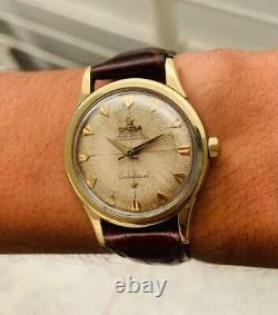 Omega Constellation Pie Pan Gold & Steel 2852 Vintage Watch-cuf