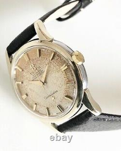 Omega Constellation Pie Pan Patina Dial Automatic Cal. 551 Dating To 1959