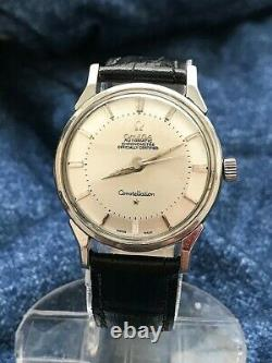 Omega Constellation Pie Pan, Reference 14900, caliber 551, year 1962