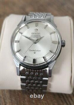 Omega Constellation Pie Pan Vintage Men's Watch 1963 Serviced + Warranty