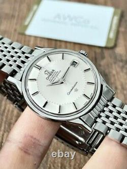 Omega Constellation Pie Pan Vintage Men's Watch 1969, Serviced + Warranty