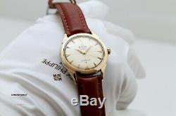 Omega Constellation Vintage Pie Pan Bumper 1954 Box & Papers