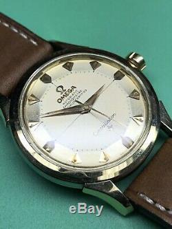 Omega Constellation Vintage Radium Lume Pie Pan Dial 2852-3 Gold & Steel Watch
