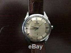 Omega Men's Constellation Deluxe Pie Pan Dial Vintage Automatic Watch