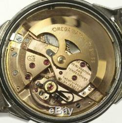 Omega Mens Constellation vintage Mens watch Rice Omega bracelet Pie Pan + Box