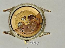 Omega Vintage Constellation Pie Pan Honeycomb Heart Marker Refinished Dial