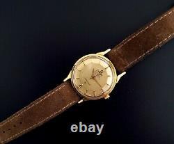 Omega Vintage Constellation Pie-pan Steel Automatic Wristwatch Circa 1960