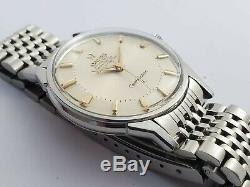 Omega Vintage Constellation'pie-pan' Steel Automatic Wristwatch Circa 1960