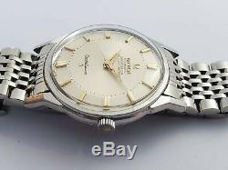 Omega Vintage Constellation'pie-pan' Steel Automatic Wristwatch Circa 1960