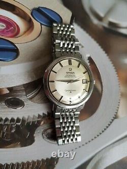 Omega constellation pie pan vintage watch, Rarejumbo size 36m ref/158.004