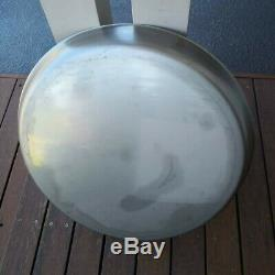 Out of stock, back soon 60cm Peka Sac Camp Oven stainless Steel pan