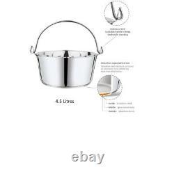 Penguin Home Professional Jam Pan/Maslin Pan Capacity of 4.5 litres