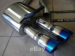 Porsche 970 Panamera V6/V8/S/4S/Turbo 10-16 Catback Exhaust System Without Valve