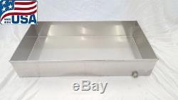 Premium Maple Syrup Boiling Pan 18x34x6 Stainless Steel Sap evaporator 18 ga
