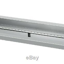 Propane Gas Fire Pit Burner Pan 48 x 6 (122 x 15cm) Patio Heater Burner