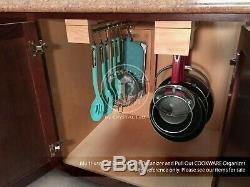 Pull Out Kitchen Cabinet Organizer and Storage for Cookware Pots and Pans